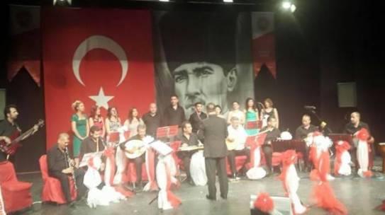 Alanya Devlet Hastanesi Türk Halk Müziği Korosu muhteşem bir konser verdi.